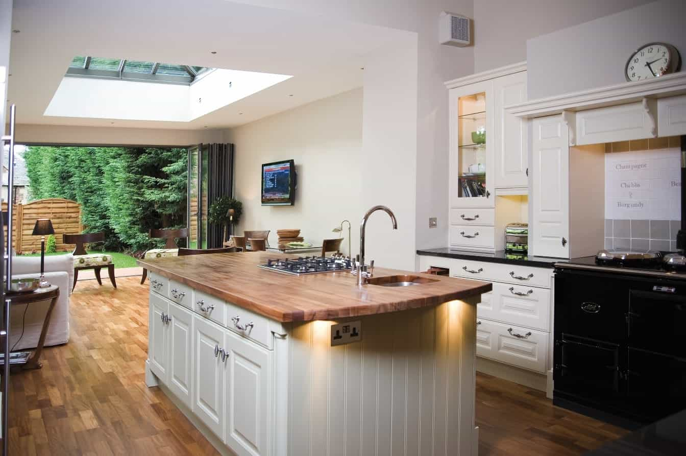 designed kitchen by taylors of bath